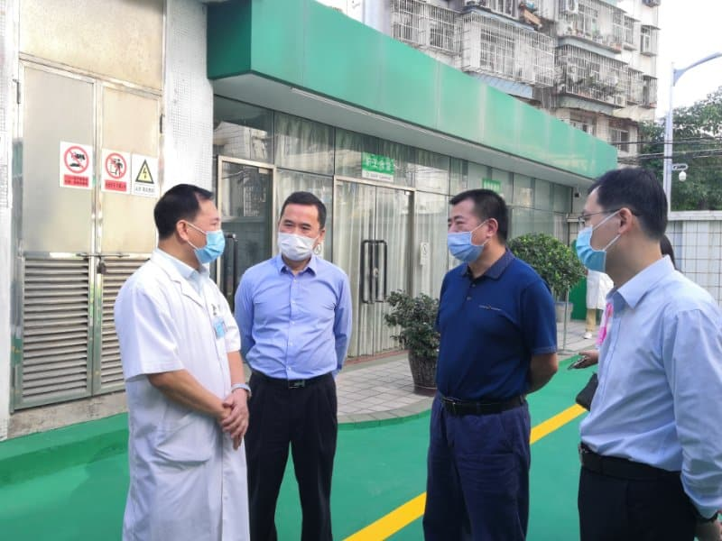 市人大常委会秘书长李力一行到我中心开展基层医疗卫生指导和调研工作